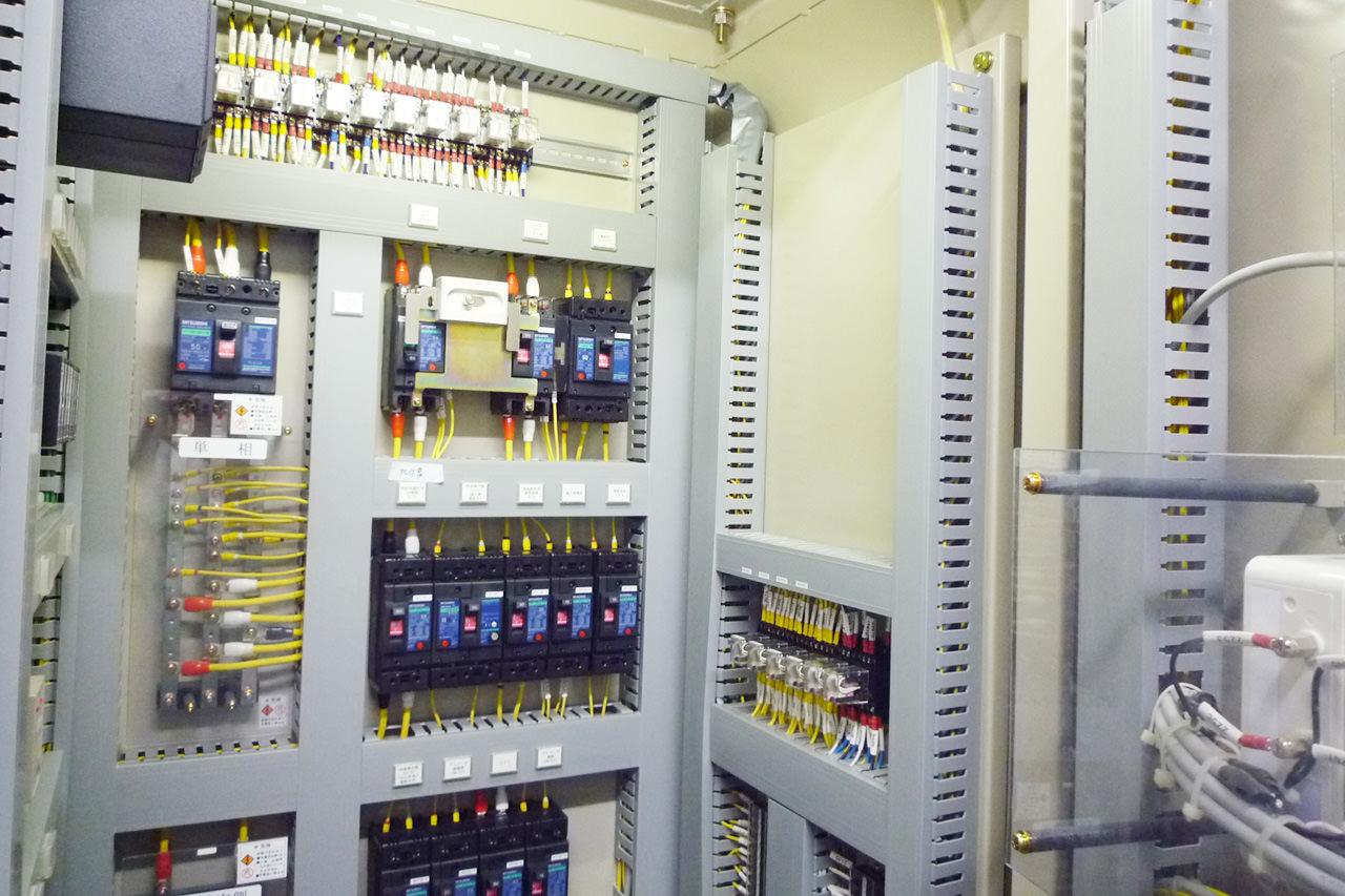 プラント設備に伴う計装設備の設計・施工